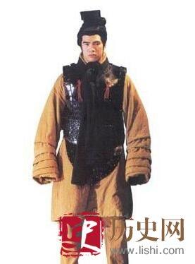 秦朝军官服饰的特点