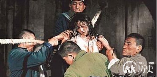 中国史上被当众施裸刑的六位女人...